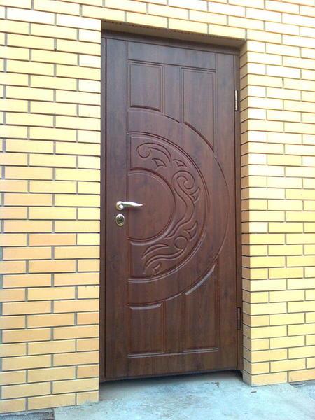 бронированные двери металлические профиль