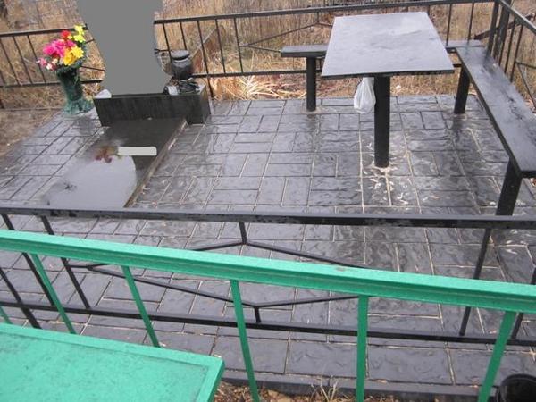 Как положить тротуарную плитку на кладбище своими руками