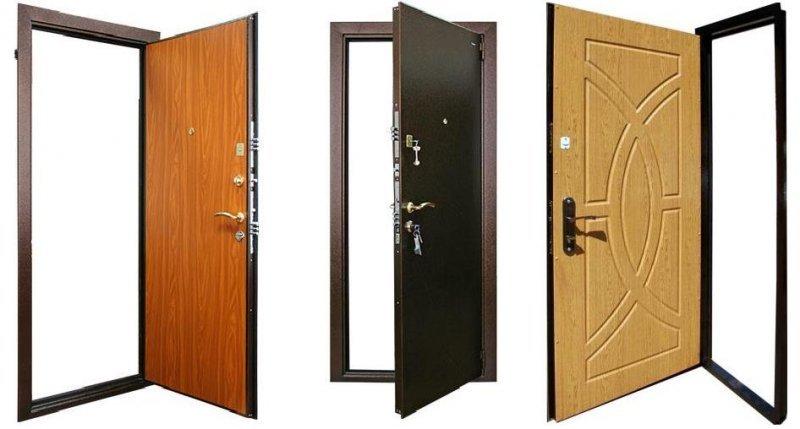 железные двери прочные